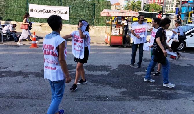 """Demokrasi Kazanacak Platformu:"""" Demokrasi ve İstanbul İçin 23 Haziran'da HAYDİ SANDIĞA!"""""""
