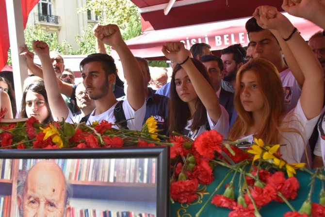 Vedat Türkali, İstanbul'da uğurlandı
