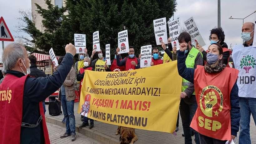 1 Mayıs Platformu tersane işçilerini 1 Mayıs'ta meydanlara çağırdı
