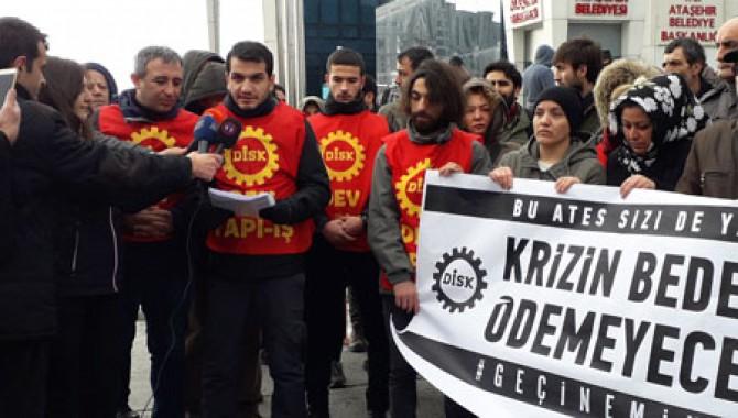 """""""450 bin inşaat işçisi işsizliğe mahkum edildi"""""""