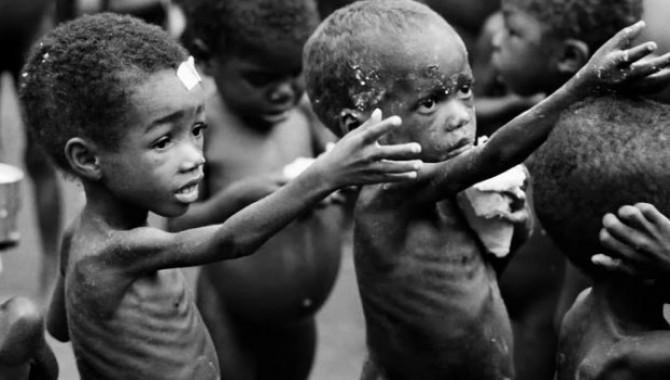 Afrika'daki çocuk ölümlerinin yarısı açlıktan: 60 milyon çocuk aç