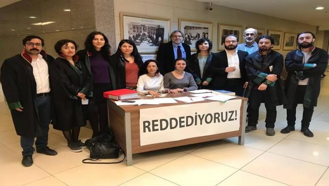 Ağır Cezalar verilen ÇHD üyesi avukatlarla dayanışma dilekçesini imzaya açtılar