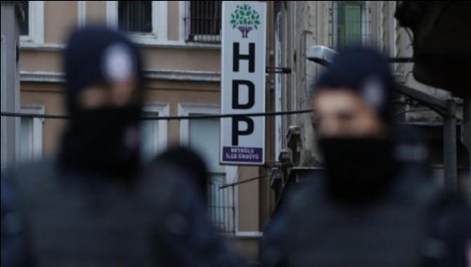 Ağrı'da birçok eve yapılan baskında HDP'liler gözaltına alındı