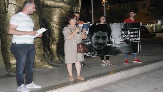Ali İsmail Korkmaz Turgutlu'da anıldı