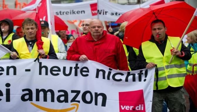 Almanya'da Amazon işçileri, Prime Day gününde greve gitti