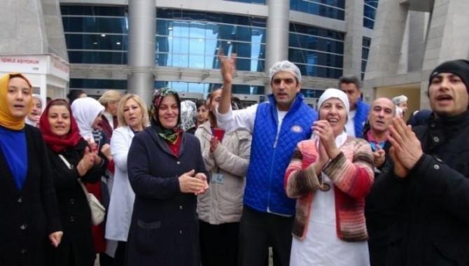 Anadolu Adliyesi işçileri kazandı