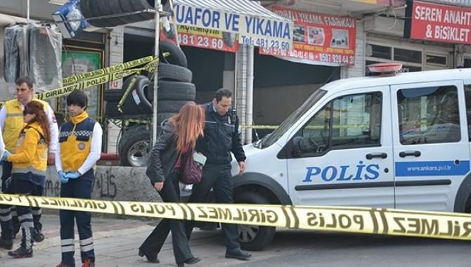 Ankara'da erkek polis, kadın polisi vurdu