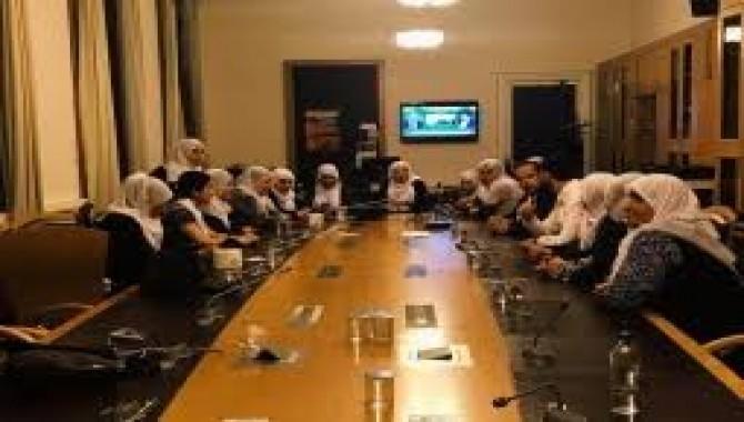 Anneler Adalet Bakanlığıyla görüşme talebiyle geceyi Meclis'te geçirdi