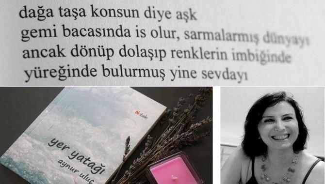 """Aynur Uluç'a mektup: """"suyun bir ucundan sen tut çekiştir bir ucundan ben"""""""