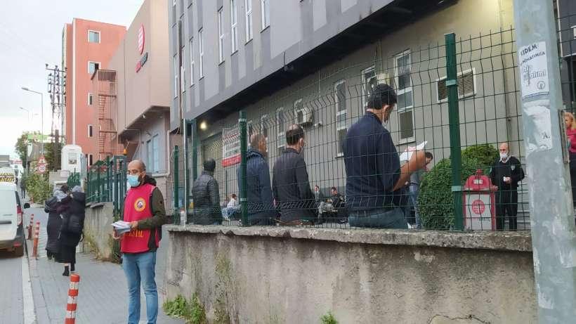 Bağcılar'da tekstil işçilerine miting daveti
