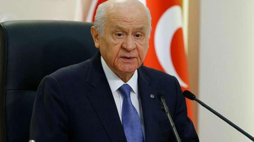 Bahçeli'den 'Siyasi Partiler Kanunu' açıklaması