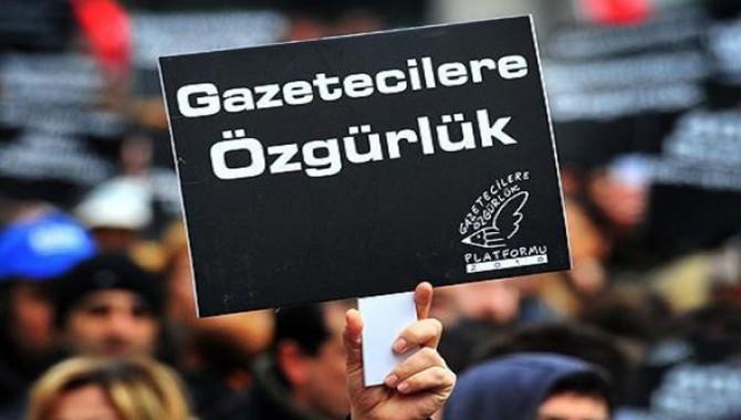 Basın özgürlüğü raporu: 12 Eylül'den bu güne tutuklu gazeteci sayısı 4 kattan fazla arttı