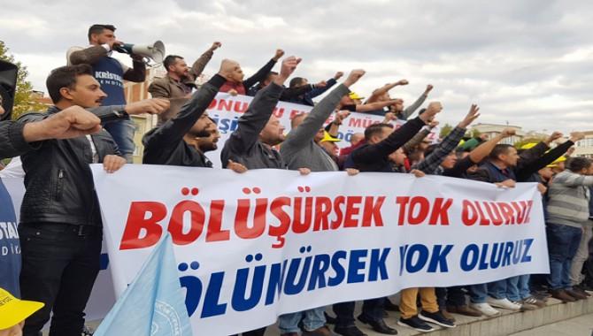 """""""Bir birleşik mücadele alanı olarak İşçi Sağlığı İş Güvenliği ve İSİG MECLİSİ"""""""