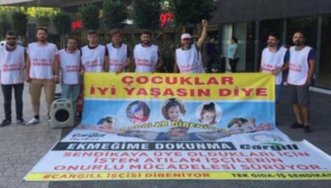 Cargil işçileri İstanbul'a yürüyor