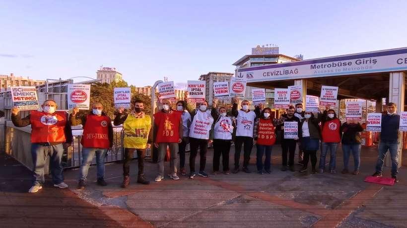 Çevizlibağ ve Tuzla'da haklarına sahip çık, 24 Ekim Mitingine katıl çağrısı