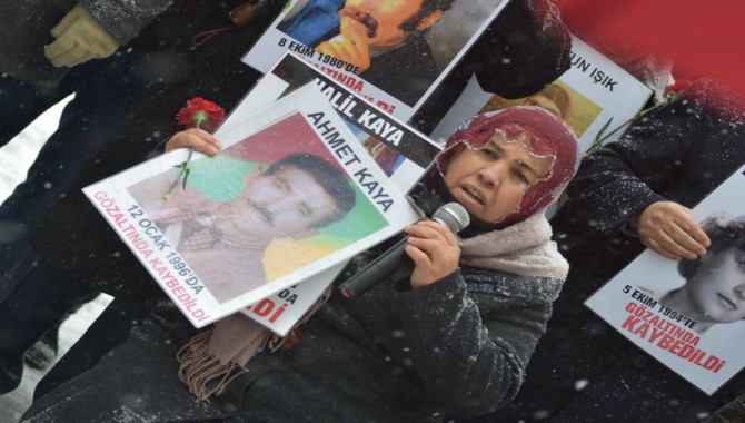 Cumartesi Anneleri, 15 Ocak 1996'da işkence ile öldürülen 11 köylü için buluşacak