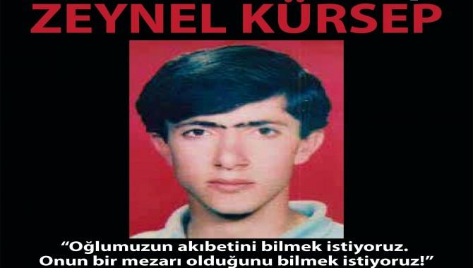 Cumartesi Anneleri 676.Kez Galatasaray'da: Zeynel Kürsep nerede?