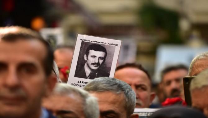Cumartesi Anneleri: Mustafa Asım Hayrullahoğlu'nu öldürenler yargılansın