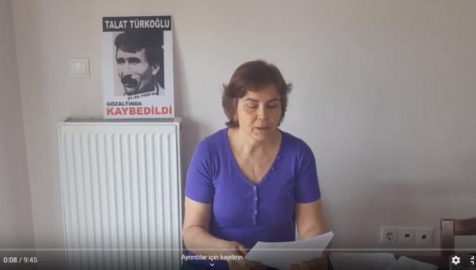 Cumartesi Anneleri Talat Türkoğlu'nun akıbetini sordu