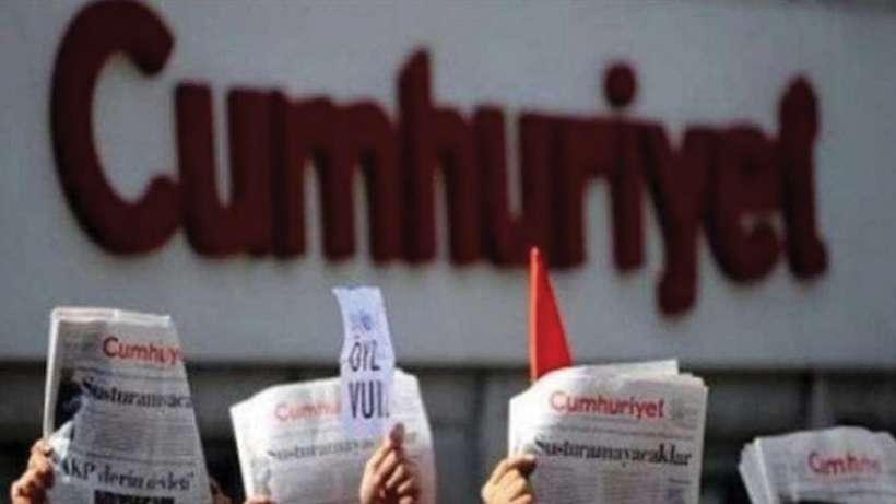 Cumhuriyet'e cezaya mesleki tepki: Gözdağı cezası kaldırılsın