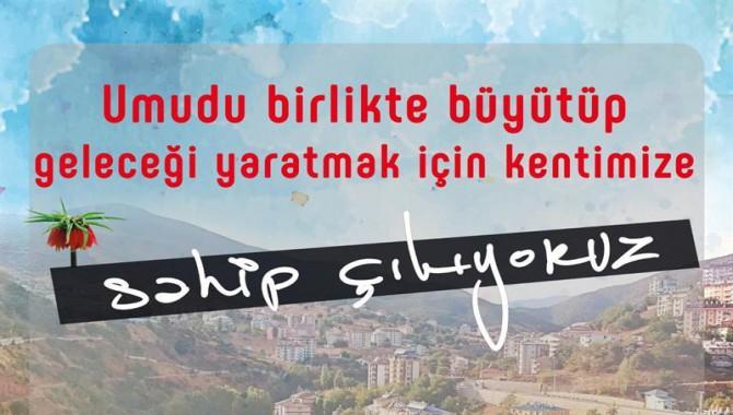 Dersim Belediyesinden dayanışma çağrısı: 'Umudu Büyütüyoruz'