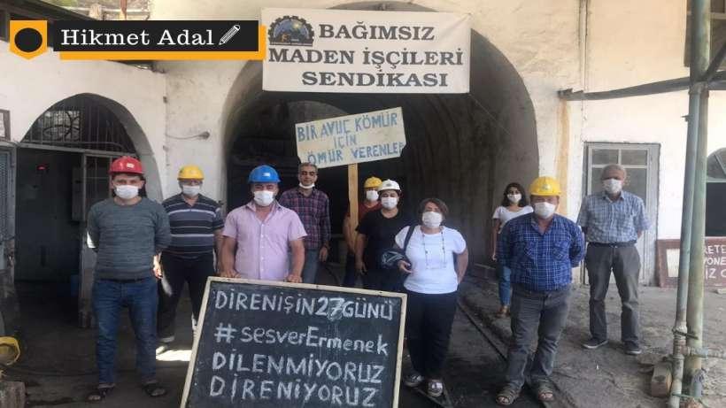 Direnen maden işçileri Ankaraya yürümeye hazırlanıyor