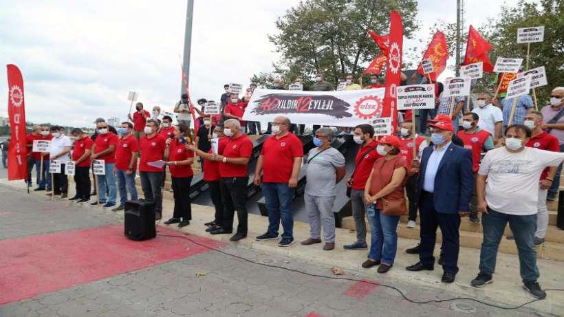DİSK 12 Eylül'den bugüne işçi sınıfının durumunu raporlaştırdı