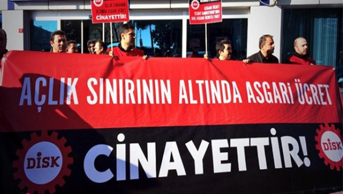 DİSK-Ar'dan asgari ücret raporu: Türkiye, en düşük asgari ücrette Avrupa'nın sondan dördüncüsü