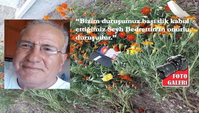 Ege'den yükselen sosyalist bir ses Adem Sucu...Uşak'ta çiçeklerle uğurlandı