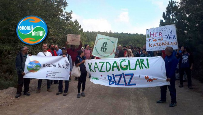 Ekoloji Birliği 26 Ekim'de Ankara'da miting yapacak