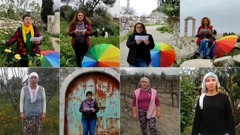 Ekoloji Birliği Kadın Meclisi'nden İstanbul Sözleşmesi çağrısı-VİDEO