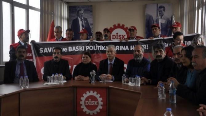 Emek örgütleri 29 Aralık'ta barış için iş bırakacak