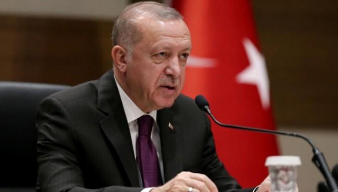 Erdoğan Cezayir'e gitmeden İstanbul Havalimanı'nda açıklama yaptı