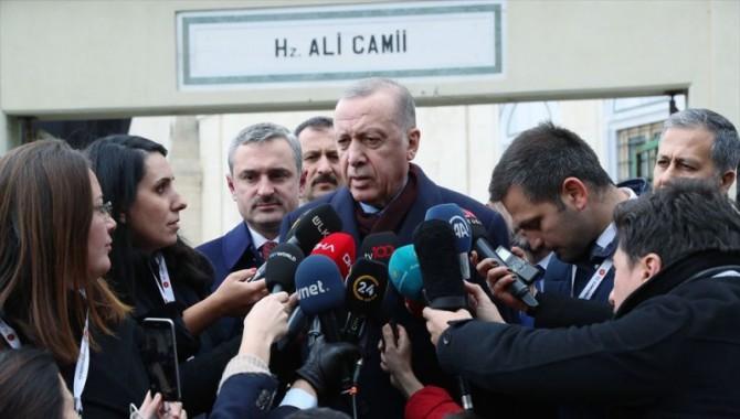 Erdoğan: Kanal İstanbul yapılacak, parası olan arsayı alır
