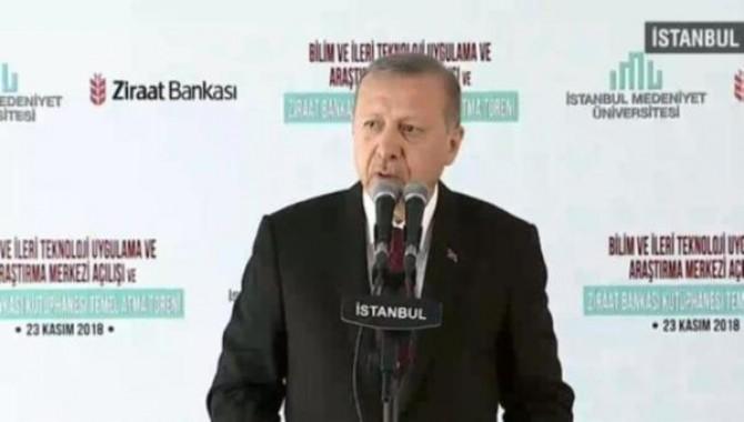 Erdoğan'dan burs çıkışı: Be kardeşim, be evladım...