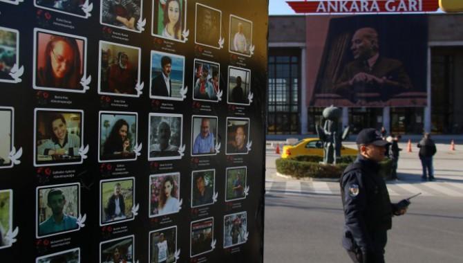 Gar Katliamı'nın 49'Uncu ayında yaşamını yitirenler anıldı