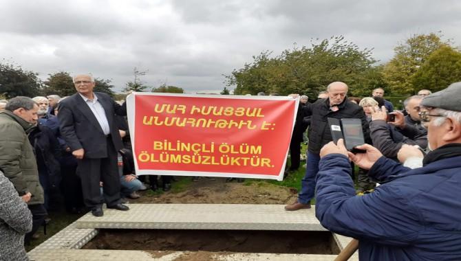 Garbis Altınoğlu Belçika'da Enternasyonel marşı ile uğurlandı