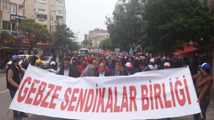 Gebze'de Sendikalar Birliği'nden 1 Mayıs kararı