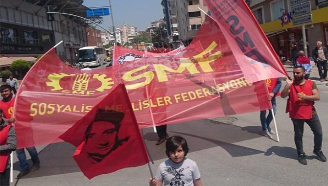Gözaltına alınan 8 SMF üyesi tutuklandı