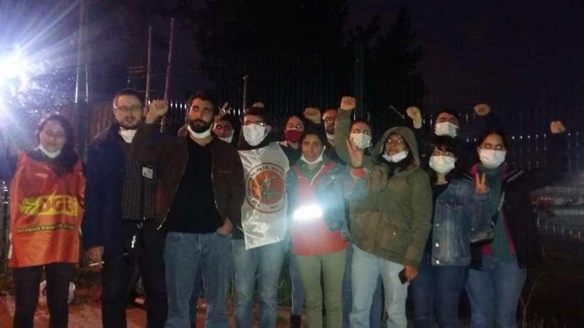 Gözaltına alınan Simbo ve SML Etiket işçileri serbest bırakıldı I Direnişimiz sürecek