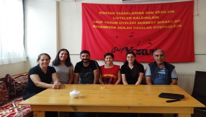 Grup Yorum  açlık grevimizin 25. gününde...'Tutuklu arkadaşlarımız serbest bırakılsın'