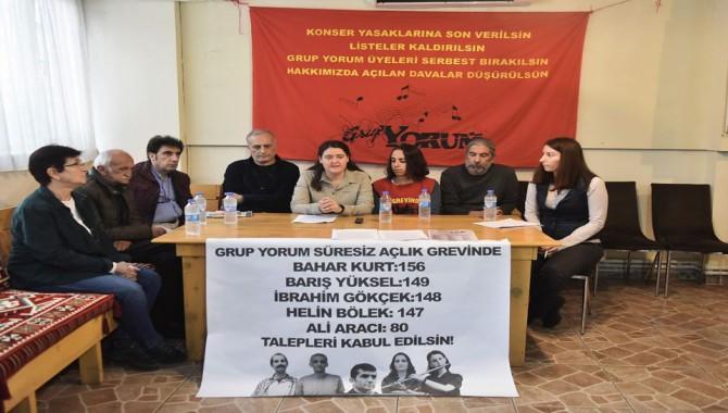 """Grup Yorum: """"Türküler susmasın, halaylar sürsün"""" istiyoruz"""