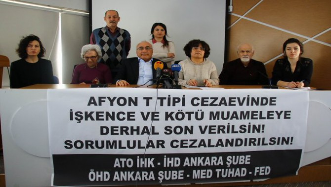 Hak örgütlerinden Afyon Cezaevi raporu: 'İz bırakmadan işkence edin'