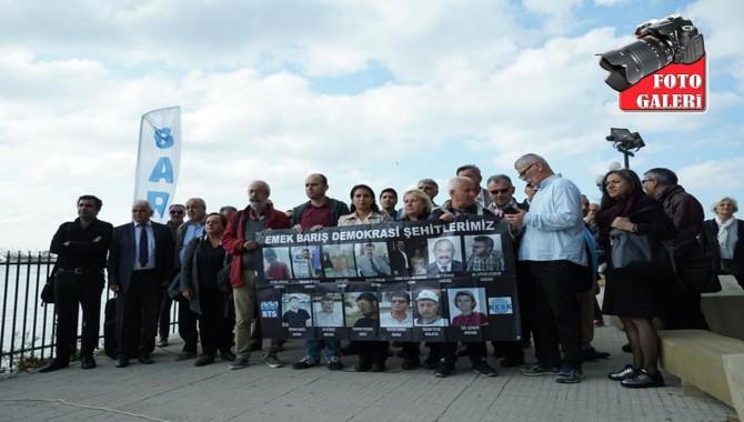 Haydarpaşa Gar'ında 10 Ekim'de katledilenler anıldı