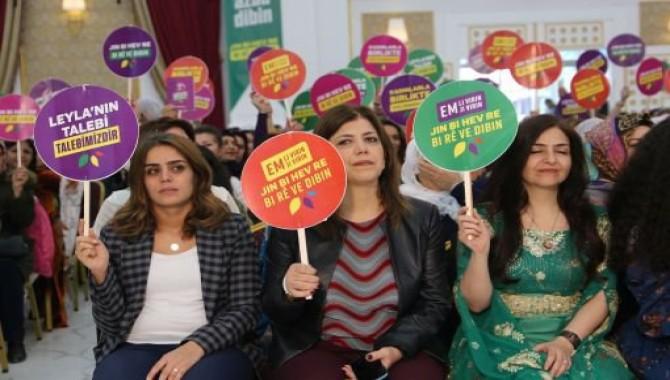 HDP'den kadın seçim beyannamesi: 'Kadınlarla birlikte'