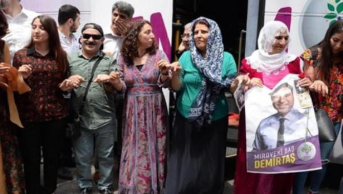 HDP Diyarbakır adaylarını tanıttı: Hedef 12-0...Bugün ise İstanbul'da tanıtım var