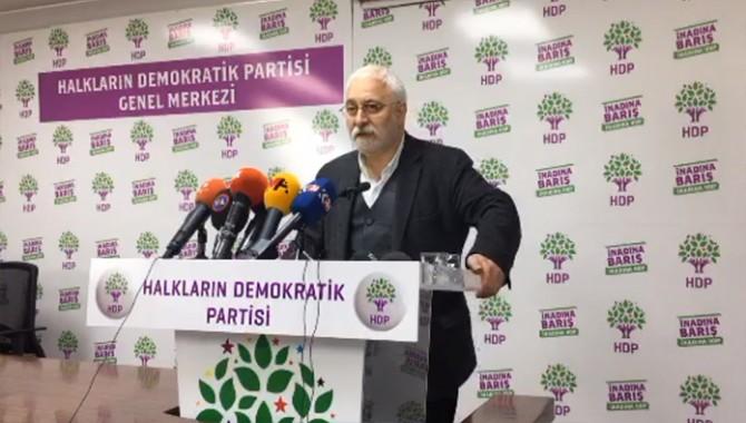 HDP: Yüksek Seçim Kurulu darbe yapmıştır