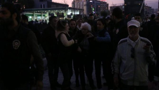 HDP'inin Esenturt'ta yapacağı açıklamaya polis müdahale etti