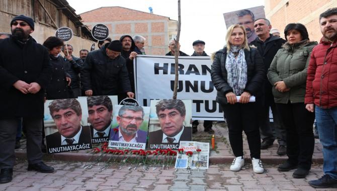 Hrant Dink, Malatya'da Anıldı: Bütün Faili Meçhuller Için Hakikat Komisyonu Kurulmalı