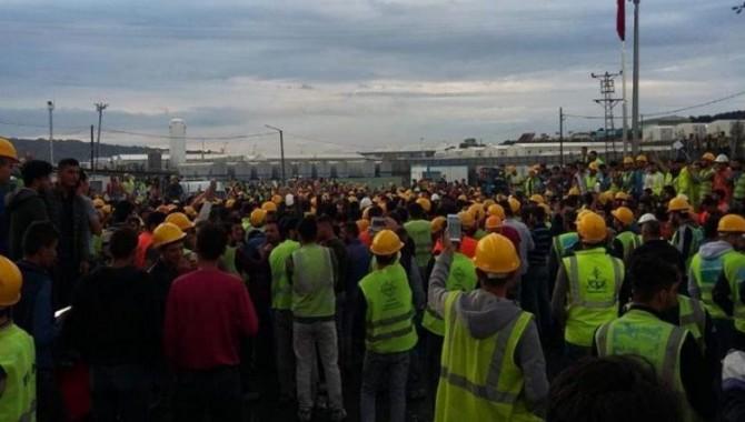 İnşaat İşçileri Sendikası'ndan, tahliyeler sonrası açıklama